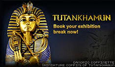 Book Tickets Now For The Tutankhamun Exhibition At O2 Exhibition Centre (Formerly the Millennium Dome).